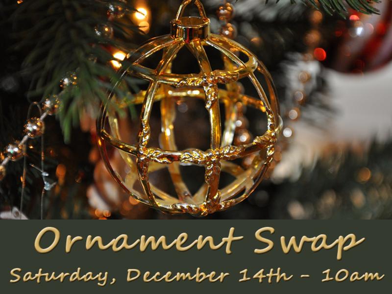ornament swap event pic